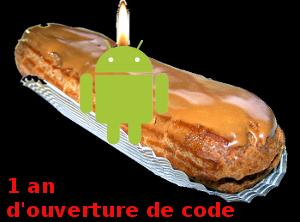 Joyeux anniversaire Android !
