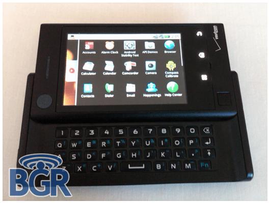 Un nouvel androphone, le Motorola Calgary ?