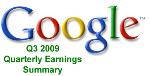 Présentation des résultats de Google au troisième trimestre