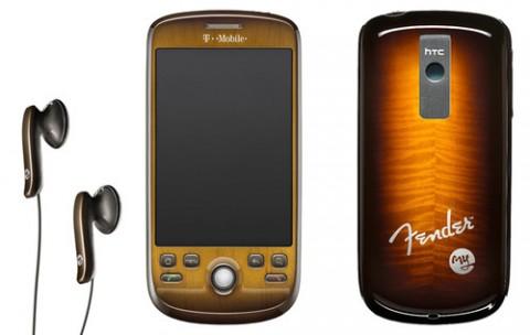 Le HTC Magic se met à la guitare avec une édition spéciale «Fender»