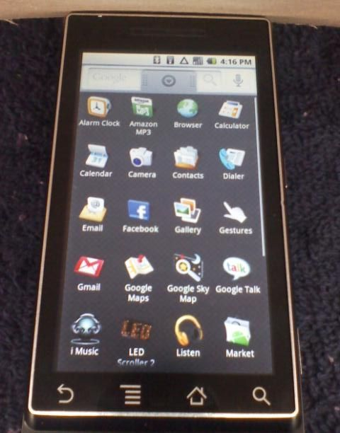 Des informations sur le Motorola «qui-change-de-nom» (Verizon Droid ou Tao ou Scholes)