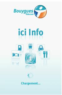 Description de l'application « ici info » de Bouygues Telecom