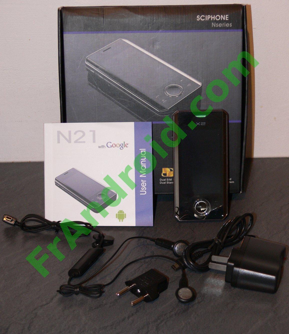 Test du Sciphone N21