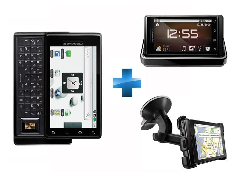 Motorola Milestone (Droid) en prévente et en exclusivité chez Rue du Commerce