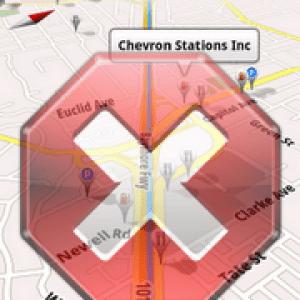 Google Navigation bloqué !