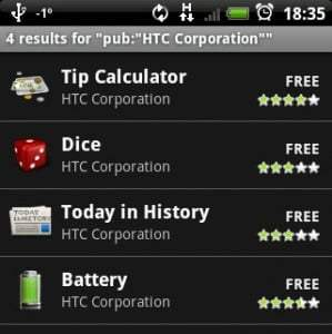HTC propose des nouveaux widgets pour la home HTC Sense