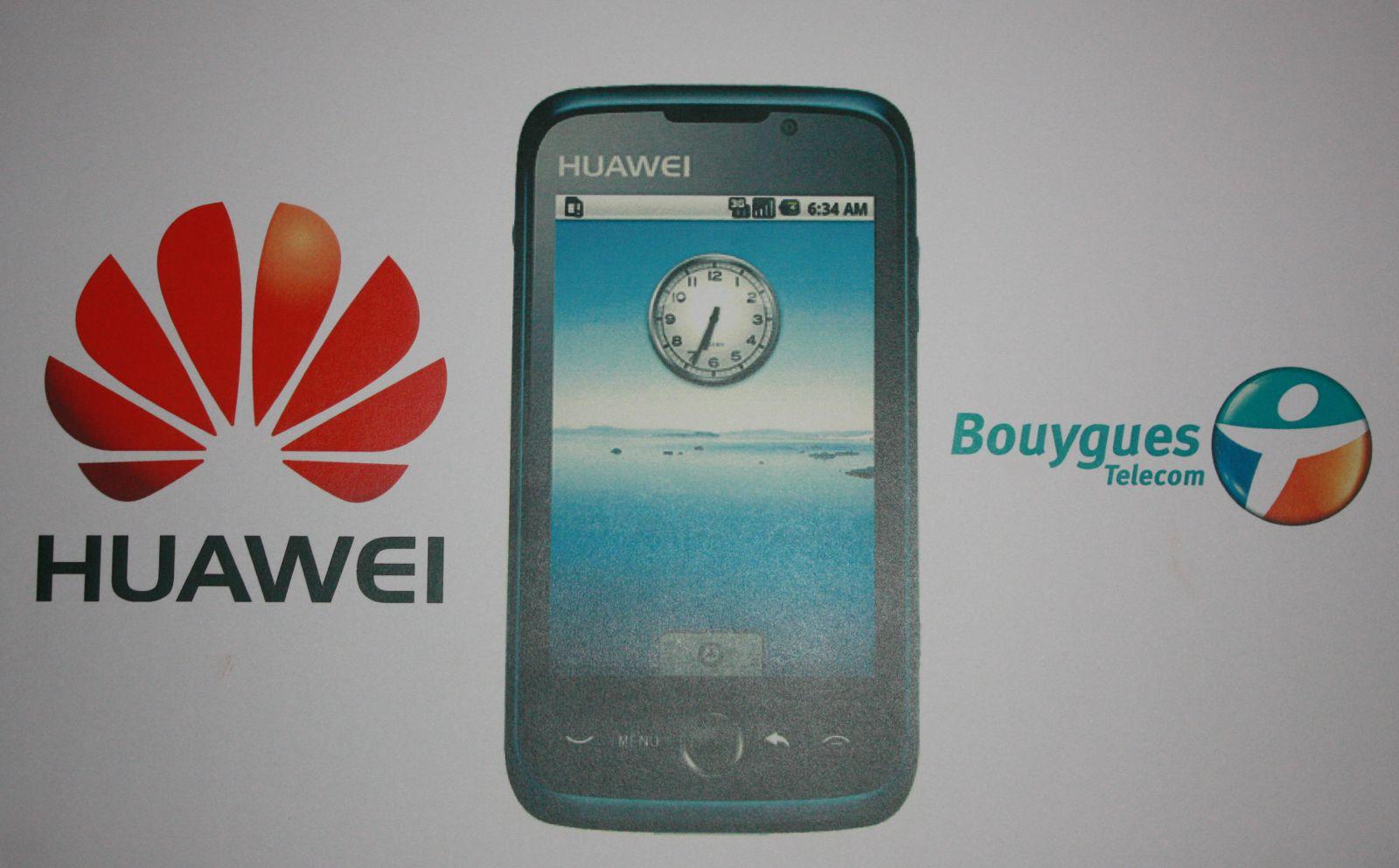 Lancement du Huawei 8230 avec Bouygues Telecom
