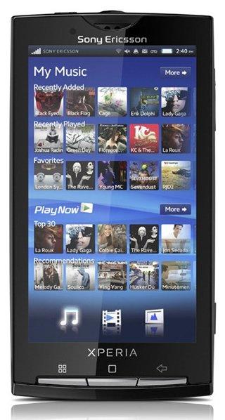 Sony Ericsson XPERIA X10 : Comptez trois semaines de retard !