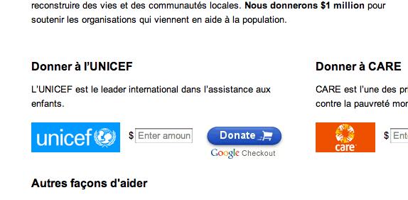 Google soutient Haïti suite au tremblement de terre