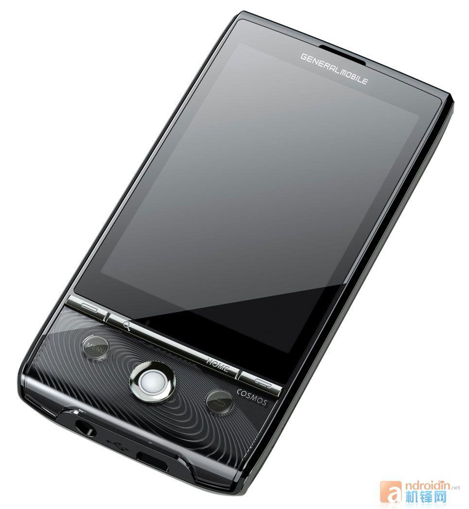 Cosmos, le smartphone Android 2.0 de Generale Mobile