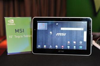 MSI Harmony, plus de détails sur cette tablette Android