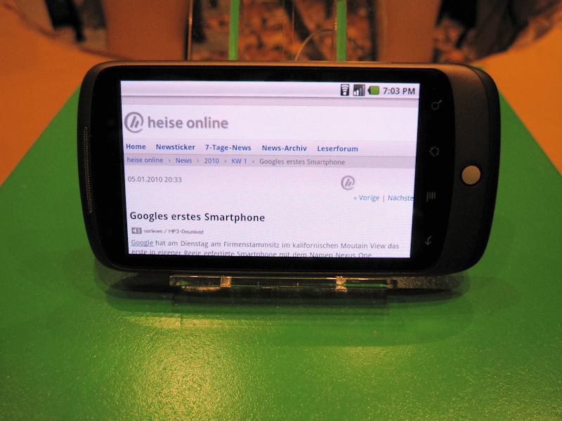 Exclusif : Le Nexus One sera multi-touch en Europe !