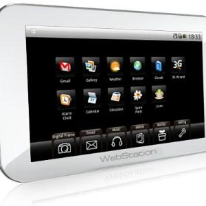 Camangi WebStation : La tablette Android à moins de 200 euros