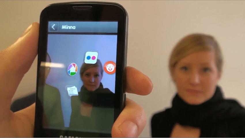 Reconizr, une application de reconnaissance faciale