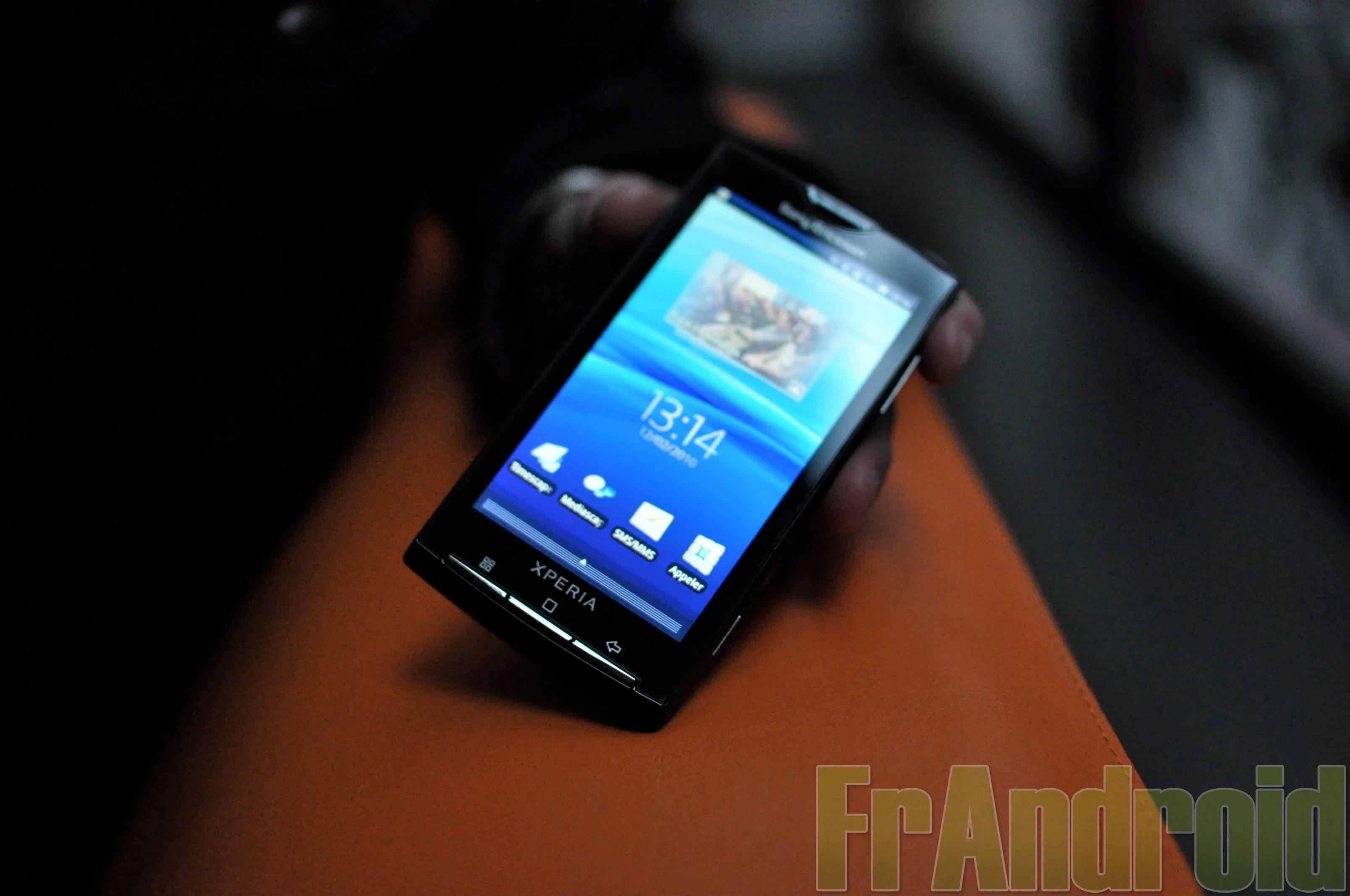 Le Sony Ericsson Xperia X10 mis à jour en 2.1 à la fin de l'année