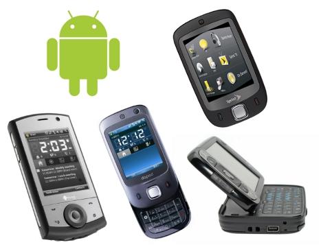 Quand Android 2.1 s'invite chez Windows Mobile