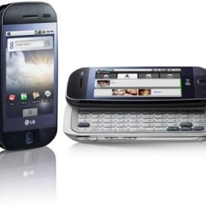 Erratum : Pas d'Android 2.1 pour le LG GW620