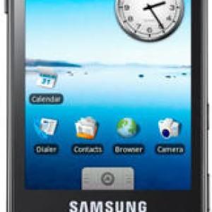 Le Samsung Galaxy un échec, le Spica un vrai départ pour le constructeur