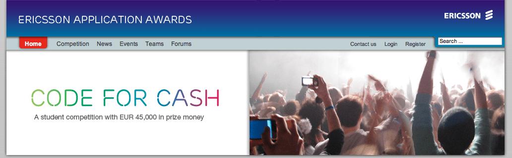 Ericsson Application Awards : Où sont les français ?
