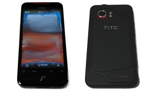 HTC Incredible les spécifications !