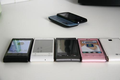 Le LG GT540 sera disponible en plusieurs coloris