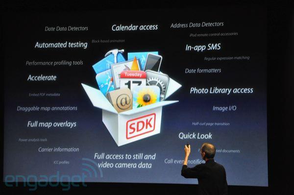 Apple à la poursuite d'Android avec l'iPhone OS 4.0