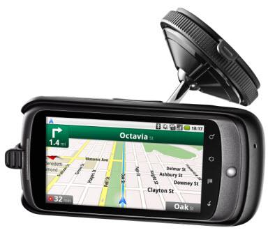 Car dock du Nexus One disponible !