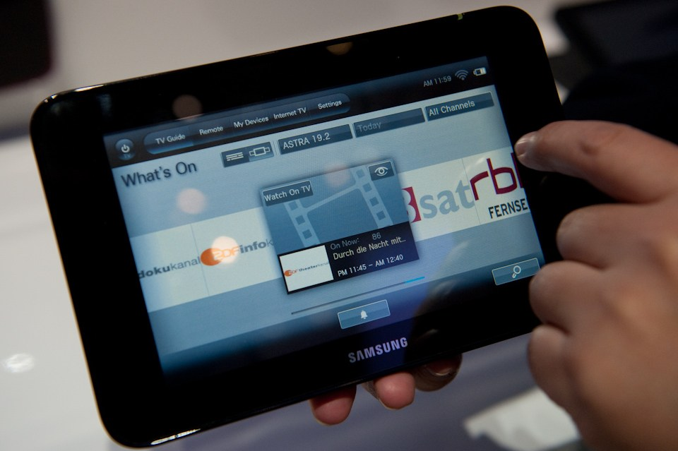 Samsung S-Pad : une tablette sous Android ?