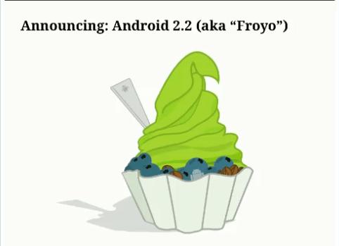 Android 2.2 «Froyo» enfin officiel : Flash 10.1, WiFi hotspots et des performances améliorées