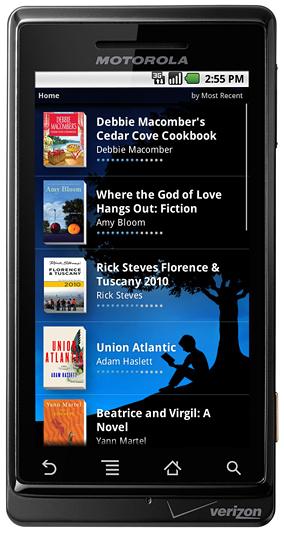 L'application Kindle pour Android en approche