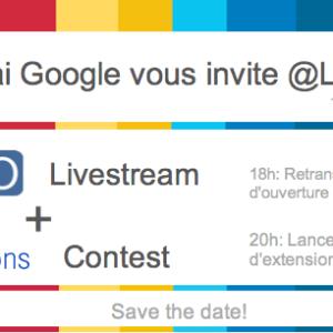 GTUG et Google organisent un livestream à la Cantine pour suivre le Google I/O