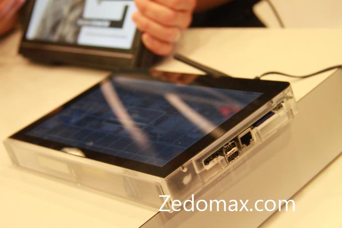 Flash et Air sur un prototype de tablette Android