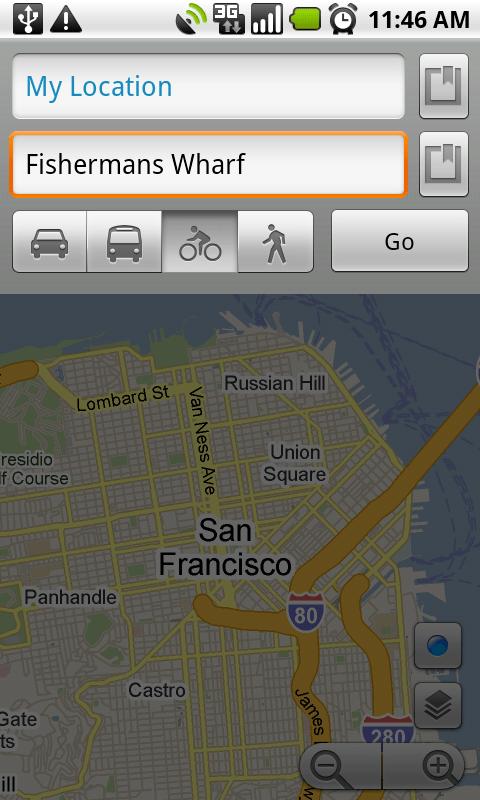 Nouvelle version de Google Maps sur Android