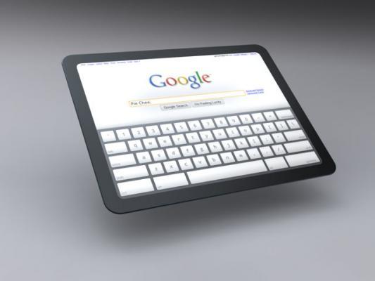 Google travaille sur une tablette numérique