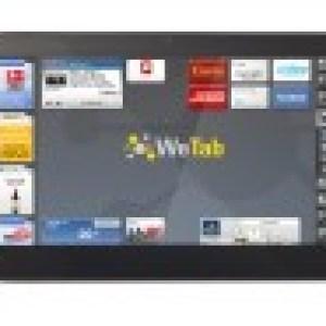 La tablette WeTab : Un écran de 11,6″ avec un processeur Intel Atom à 1,66GHz bientôt disponible
