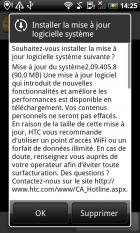 HTC Desire : la mise à jour Android 2.2 (Froyo) est déployée !