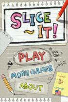 Slice It! disponible sur Android via GetJar