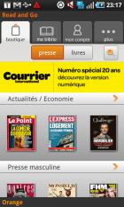 Avec Read'n'Go, Orange entreprend la lecture au format numérique