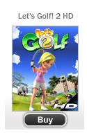 Gameloft lance le jeu Let's Golf 2 HD