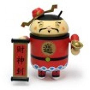 Un Android mini collectible spécial nouvel an chinois