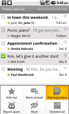Mise à jour de l'application Gmail : La partie Prioritaire a été revue et plus de fonctionnalités pour la composition de messages