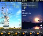 GO Weather affiche la météo sur Android et se décline en widgets et fond d'écran animé