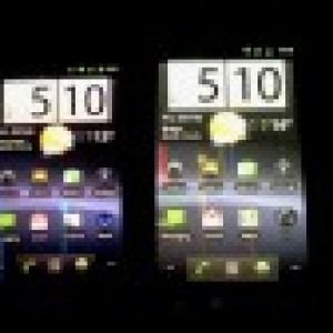 Les couleurs de l'écran du Nexus S légèrement modifiées sur Android 2.3.3