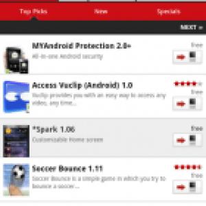 Opera a lancé son App Store web pour Android, BlackBerry, Windows Mobile, Symbian…