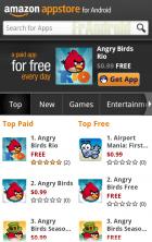 L'Amazon App Store ouvre ses portes avec Angry Birds Rio (mais uniquement aux Etats-Unis)