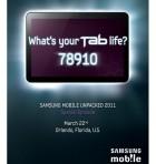 La Samsung Galaxy Tab 8,9 pouces lancée le 22 mars