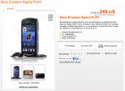Les Sony Ericsson Xperia Play et HTC Desire S sont en vente chez Orange