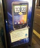 Un HTC Desire HD avec les touches du Blackberry Torch ? C'est possible dans une publicité de Tesco !
