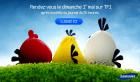 Une publicité demain soir sur TF1 avec Angry Birds et Samsung