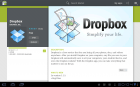 Dropbox, compatible Honeycomb et disponible en français